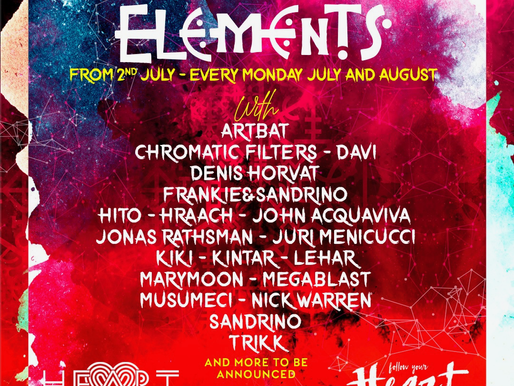 Elements @ Heart Ibiza The Grand Opening 2018