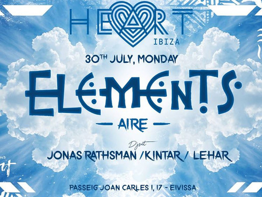 Elements @ Heart 30th July 2018