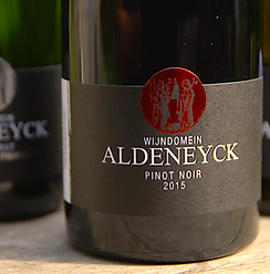 Dit is Aldeneycker wijn. Pinot Noir