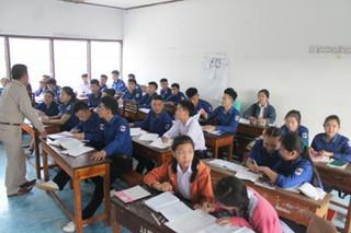 Teach English in class rooms