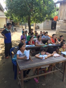 Teach English in villages