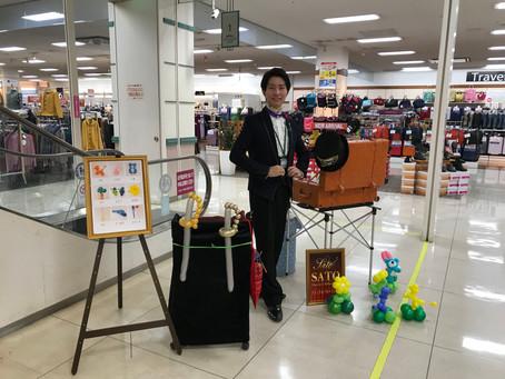 長野県イベントでバルーンアートプレゼント