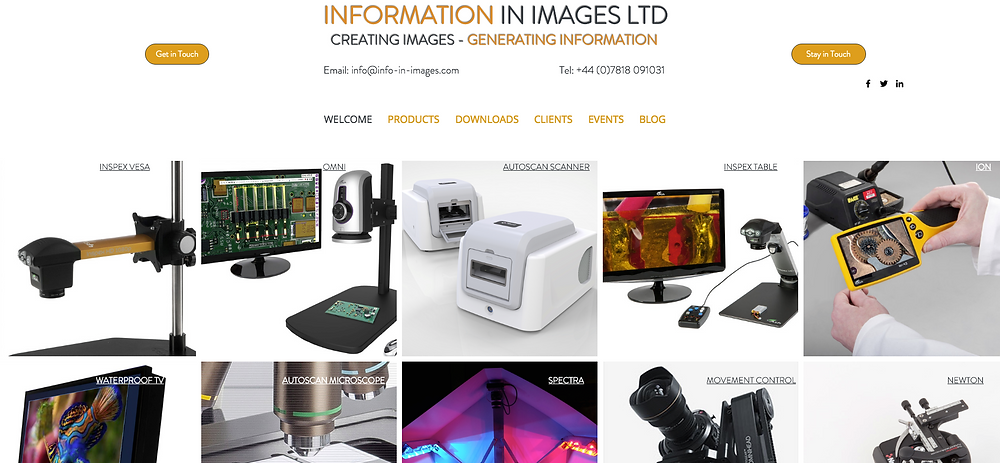 New I-in-I Website