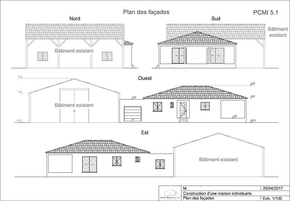 sweet home concept vaucluse permis construire plan maison. Black Bedroom Furniture Sets. Home Design Ideas