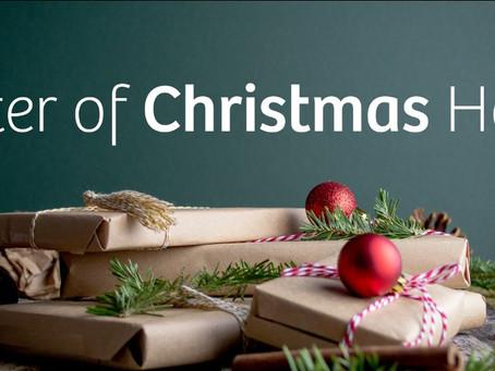Letter of Christmas Hope