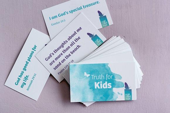 Speak Truth Cards for Kids
