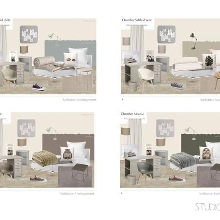 Pre-Teen social bedrooms