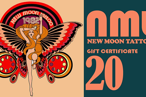 20 gift certificate