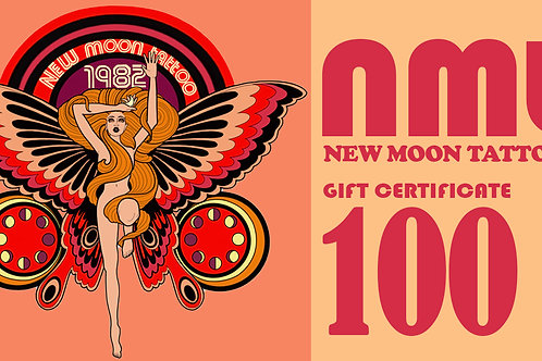 100 gift certificate