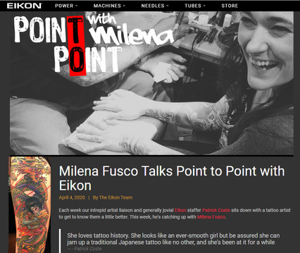 Point to Point with Milena