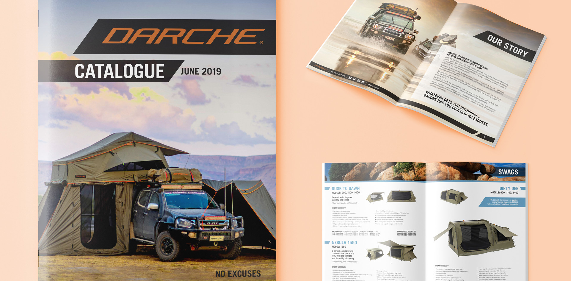 Darche product catalogue