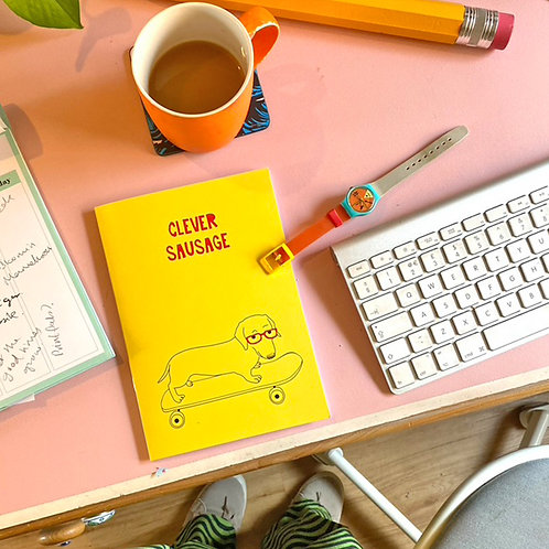 CLEVER SAUSAGE A5 Notebook