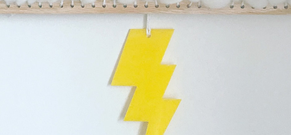 Large Lightening Bolt