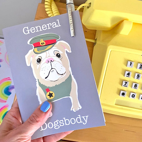 General Dogsbody Notebook