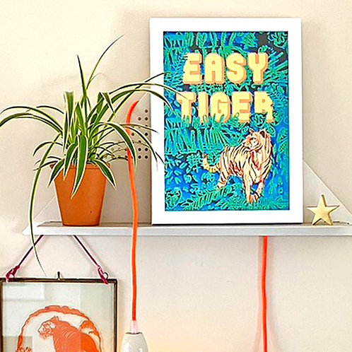 Easy Tiger Print