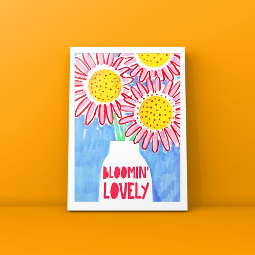 Bloomin Lovely Card