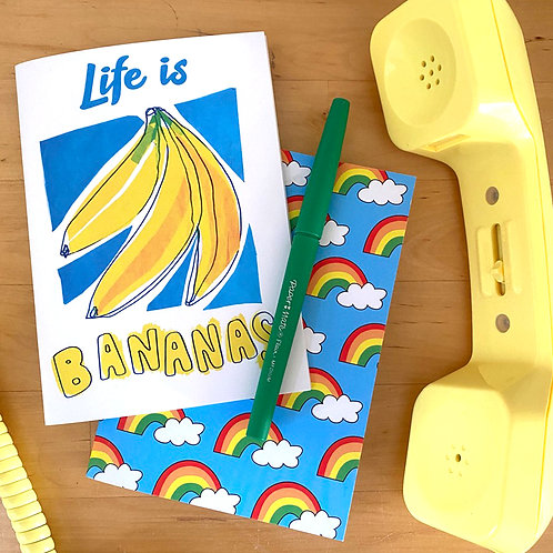 Life is BANANAS notebook