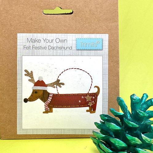 Sausage Dog Decoration Kit