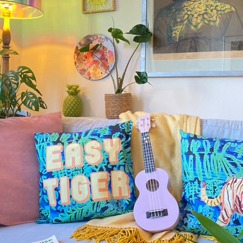 Easy Tiger Cushion Cover