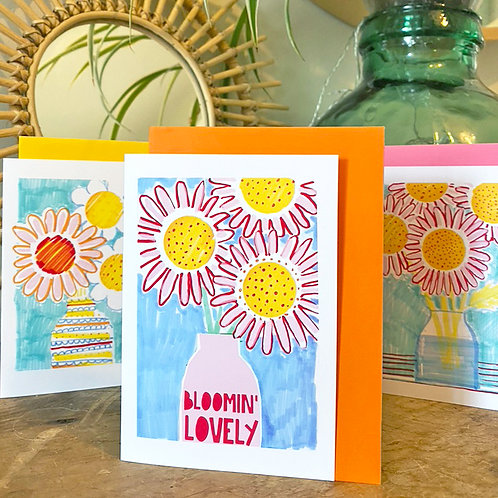 Bloomin Lovely Trio of Cards