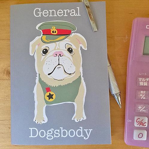 General Dogsbody Notebook