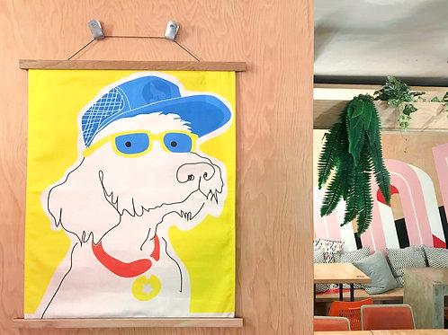 Under Dog Cloth Art