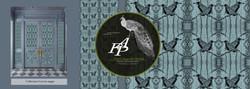 collection cabinet de curiosité papiers peints franck auguste pitoiset tous droits réservés ADAGP pa