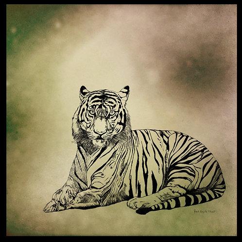 tigris franck Auguste PITOISET tous droits récervés ADAGP Paris 2021