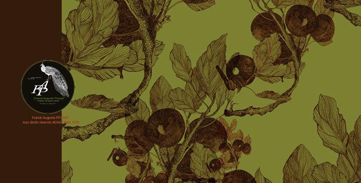 collection prunus viridis franck auguste PITOISET