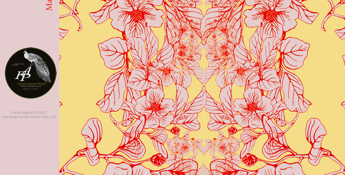 collection Florale magnoliacea galbinus  franck auguste PITOISET