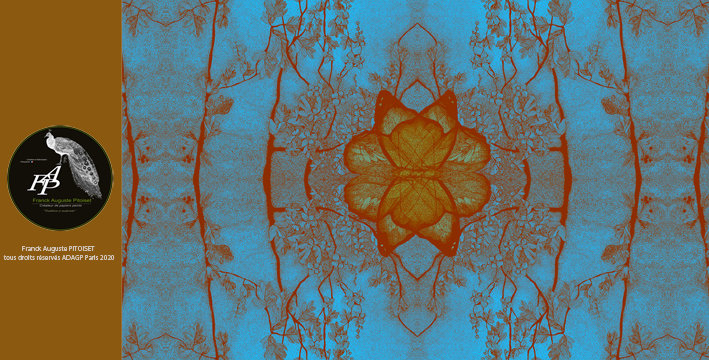 collection Florale obviatus azur franck auguste PITOISET