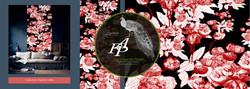 collection florale papiers peints franck auguste pitoiset tous droits réservés ADAGP paris 2020