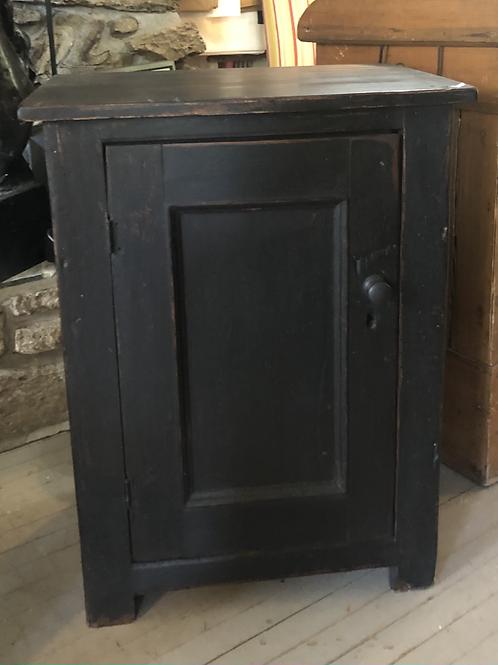 Petite armoire 1 porte, noire