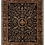 Thumbnail: Traditional Hand-knotted Black & Red Rug