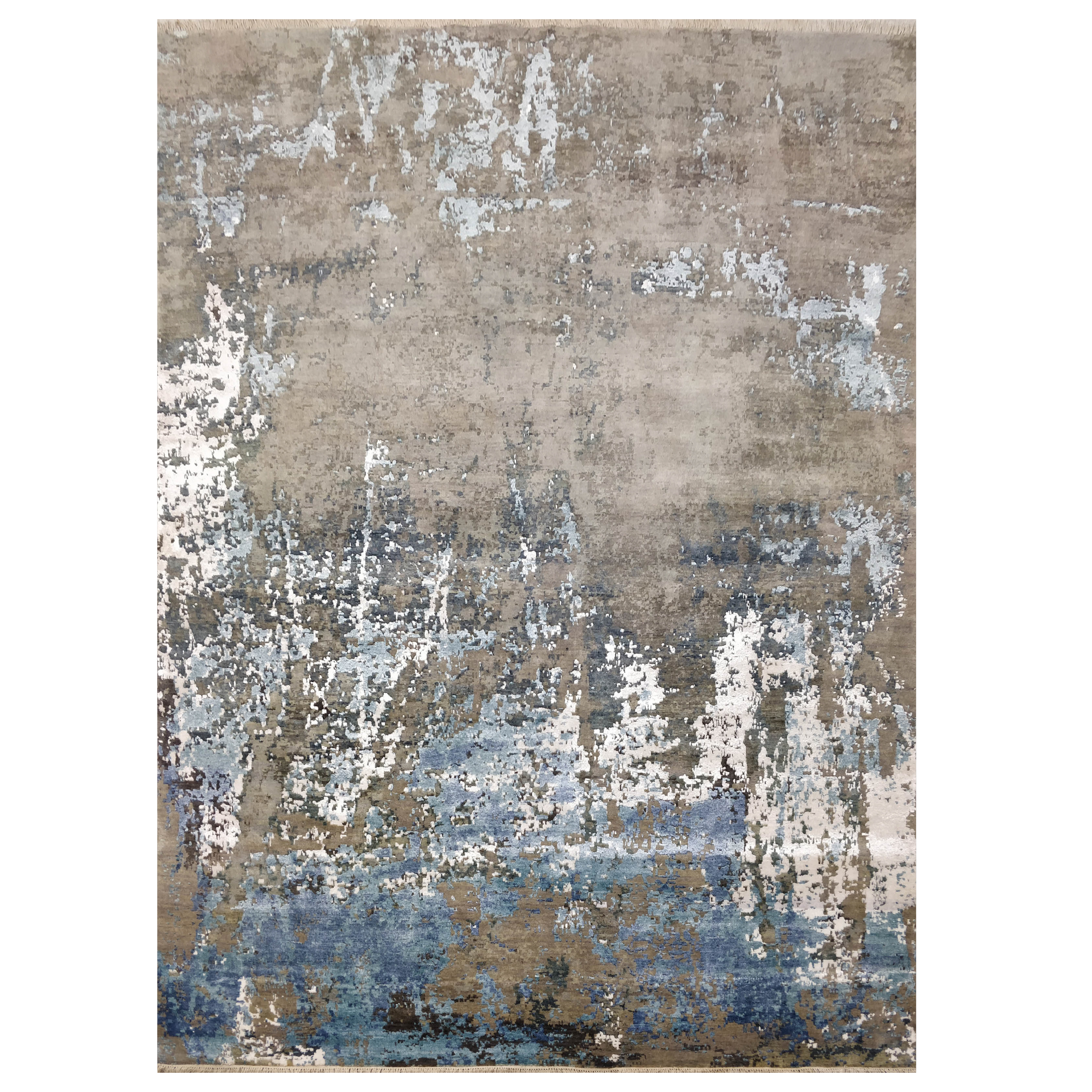 Picture of: Blue And White Contemporary Rug The Rugs Story