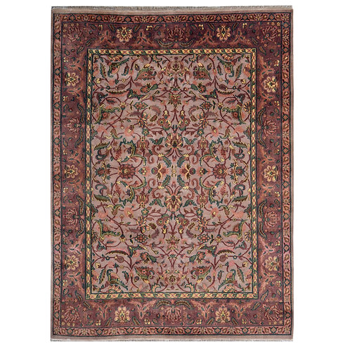 MAROON PINK FINE QUALITY RUG