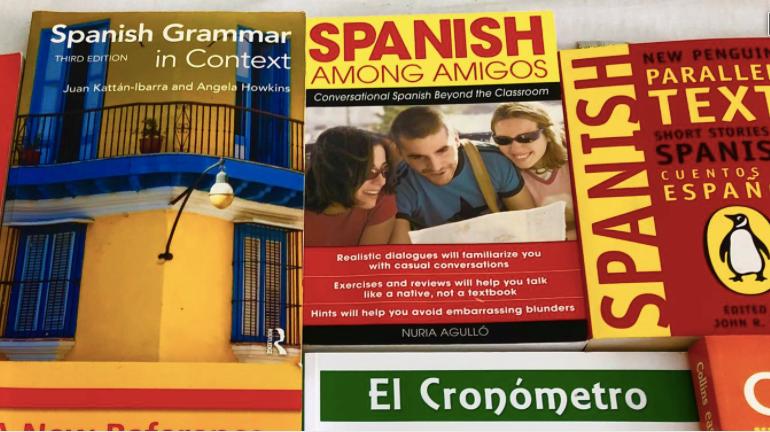 Spanish text books