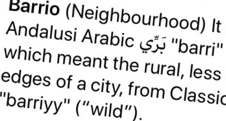 Barrio definition