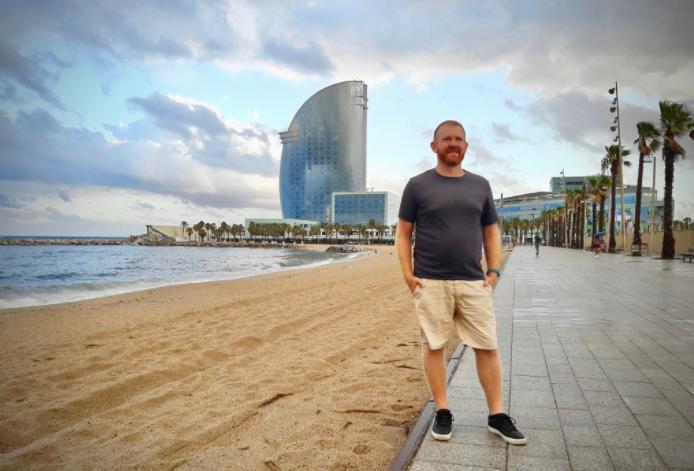 Daniel Welsch in Barcelona