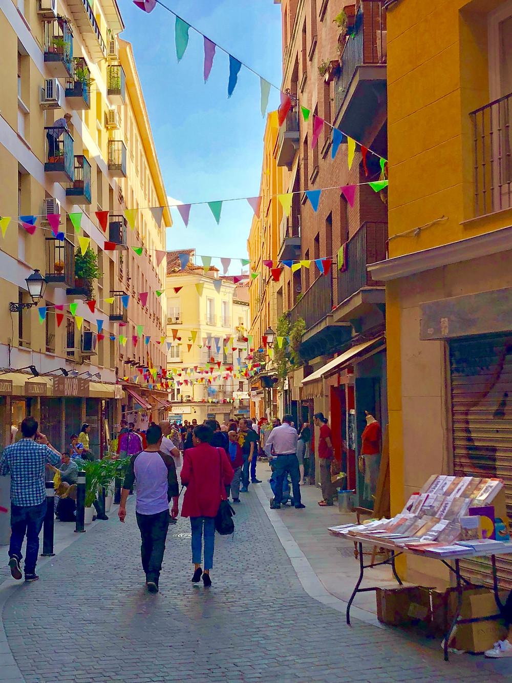Calle Santa Ana, Madrid