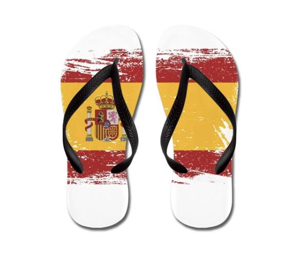 Spanish flip-flops