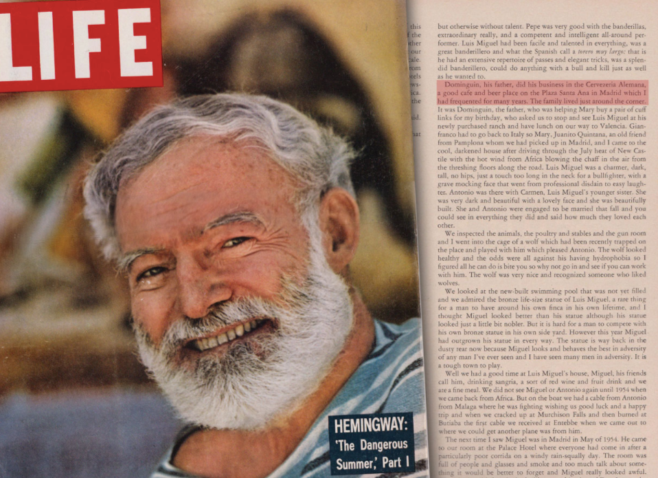 The Dangerous Summer in Life Magazine