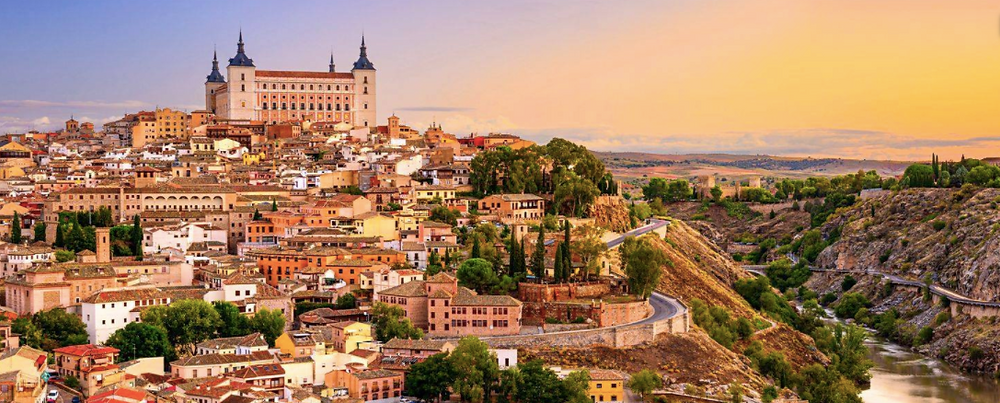 View of Toledo and the alcazar