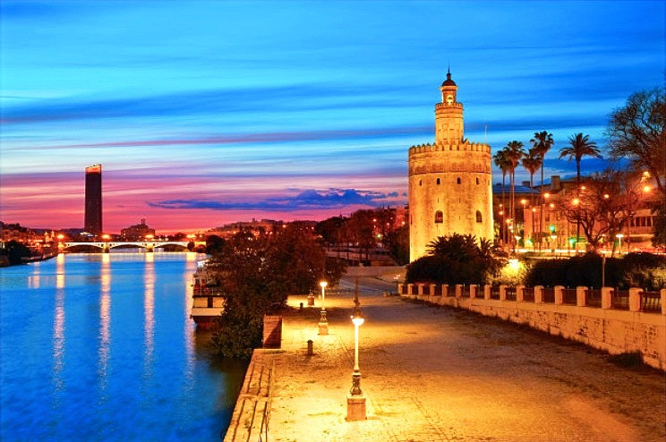 River Guadalquivir & La Torre del Oro