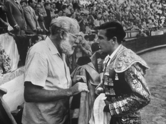 Ernest Hemingway at Las Ventas bullring