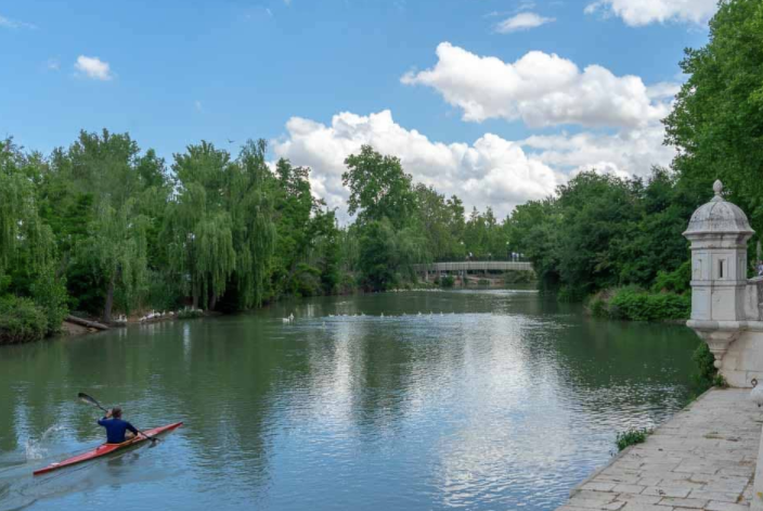 El Jardín del Príncipe & Tagus River