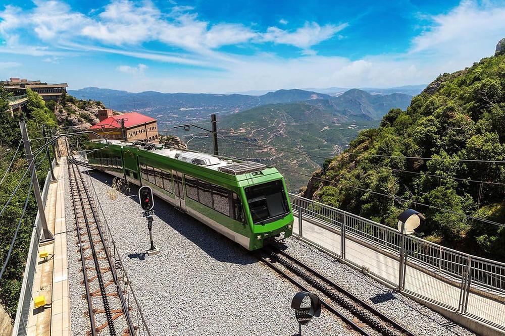 Slow trains in Spain