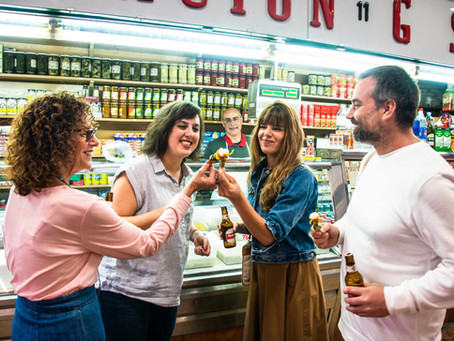 Foodies in Madrid - Best bites (& sips). Plus why do you listen to When in Spain?   Episode 68