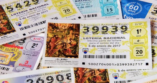 Christmas Lottery tickets - El Gordo