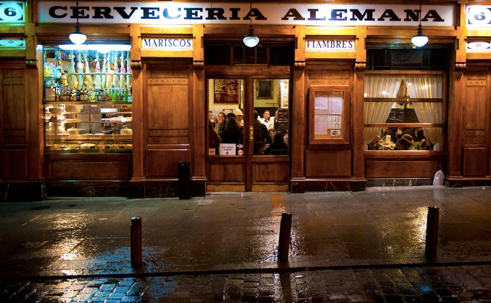 La Cerveceria Alemana - Plaza Santa Ana